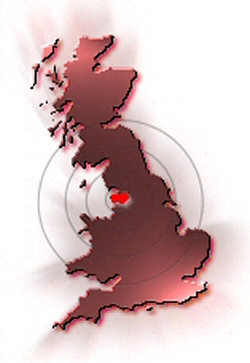 Map - Showing EasierThan's location in the UK